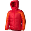 Marmot M's Greenland Baffled Jacket Team Red/Sunset Orange (6270)